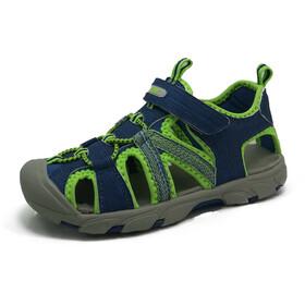 High Colorado Capri Chaussures Enfant, blue-lime